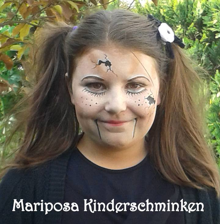 halloween mariposa kinderschminken. Black Bedroom Furniture Sets. Home Design Ideas